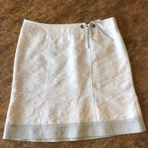 Nanette Lepore Ivory Skirt Women's Size 2